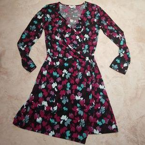 Bar lll long sleeve  floral  dress
